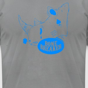 Bone Breaker Blue - Men's T-Shirt by American Apparel