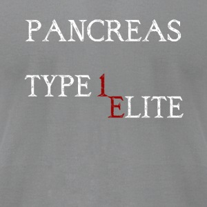 pancreas Type 1 Elite - Men's T-Shirt by American Apparel