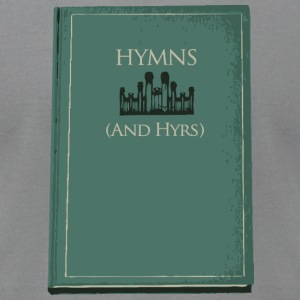 Hymns (and Hyrs) - Men's T-Shirt by American Apparel