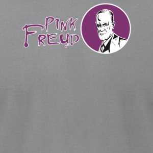 Pink Freud - Men's T-Shirt by American Apparel