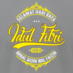 Eid Mubarak from Indonesia - Men's T-Shirt by American Apparel
