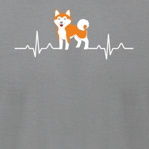 Shiba Inu Shirt - Men's T-Shirt by American Apparel