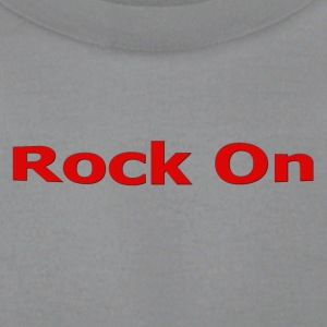 Rock On RED - Men's T-Shirt by American Apparel