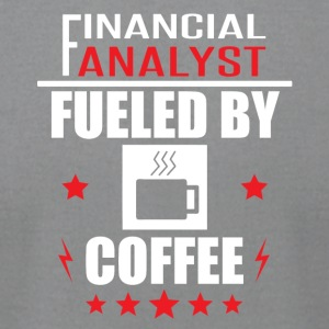Financial Analyst Fueled By Coffee - Men's T-Shirt by American Apparel