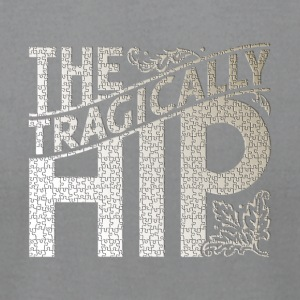 The Tragically Hip Puzzle Mode - Men's T-Shirt by American Apparel