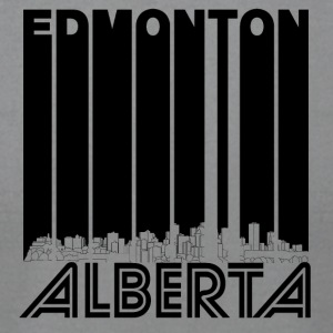 Retro Edmonton Alberta Canada Skyline - Men's T-Shirt by American Apparel