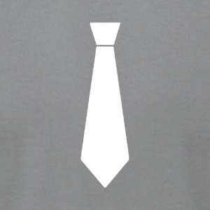 White Tie - Men's T-Shirt by American Apparel