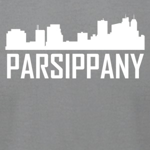 Parsippany New Jersey City Skyline - Men's T-Shirt by American Apparel
