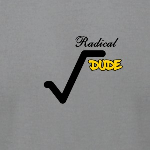 Radical Dude - Men's T-Shirt by American Apparel