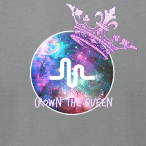 Musically crown the queen - Men's T-Shirt by American Apparel