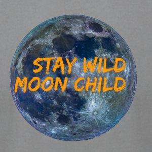 Stay Wild Moon Child 3 26 - Men's T-Shirt by American Apparel