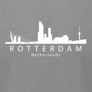 Rotterdam Netherlands Skyline - Men's T-Shirt by American Apparel