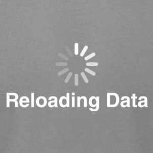 Reloading Data - Men's T-Shirt by American Apparel