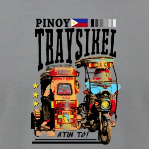 Pinoy Traysikel - Men's T-Shirt by American Apparel