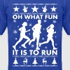 Oh What Fun To Run - Men's Fine Jersey T-Shirt