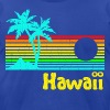 1980s Vintage Retro Hawaii - Men's Fine Jersey T-Shirt