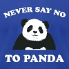 Never Say No To Panda - White - Men's Fine Jersey T-Shirt