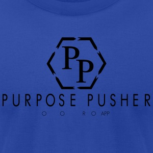 Purpose Pusher Apparrel - Men's T-Shirt by American Apparel