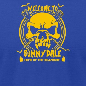 Welcome to Sunnydale - Men's T-Shirt by American Apparel