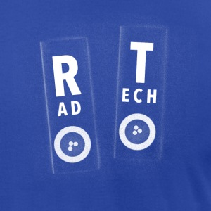 Rad Tech Markers - Men's T-Shirt by American Apparel