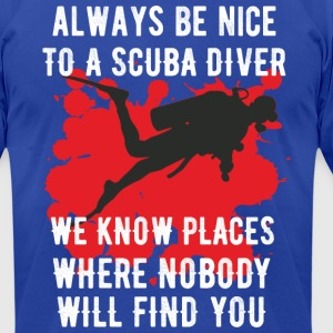 Scuba - Men's T-Shirt by American Apparel