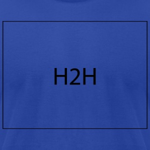 H2H - Men's T-Shirt by American Apparel