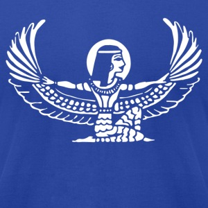 Goddess Isis Egyptian - Men's T-Shirt by American Apparel