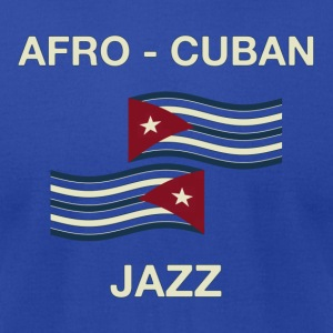 afro cuban jazz - Men's T-Shirt by American Apparel