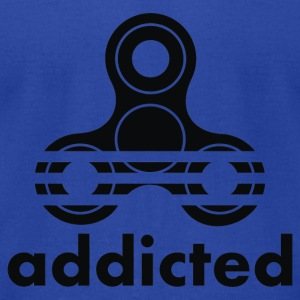 Addicted - Men's T-Shirt by American Apparel