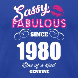 Sassy Fabulous Since 1980 - Men's T-Shirt by American Apparel