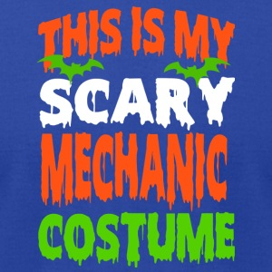 Mechanic - SCARY COSTUME HALLOWEEN SHIRT - Men's T-Shirt by American Apparel