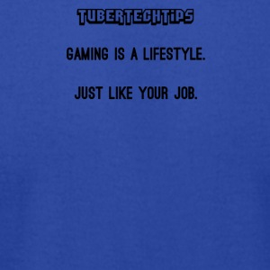 Gaming is a lifestyle - Men's T-Shirt by American Apparel