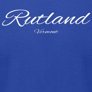 Vermont Rutland US DESIGN EDITION - Men's T-Shirt by American Apparel