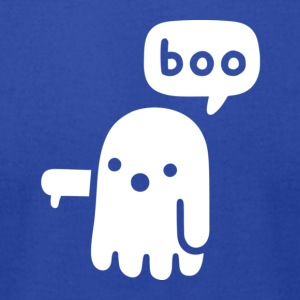 Ghost Of Disapproval Boo Shirt - Men's T-Shirt by American Apparel