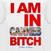 I AM IN CANNES BITCH - Men's Fine Jersey T-Shirt