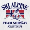 Norway Ski Alpine  - Men's Fine Jersey T-Shirt