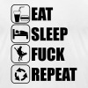 Eat Sleep Fuck Repeat - Men's Fine Jersey T-Shirt