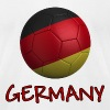Team Germany FIFA World Cup - Men's Fine Jersey T-Shirt