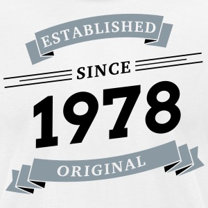 Established since 1978 - Men's T-Shirt by American Apparel