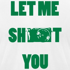 Let me shoot you - Men's T-Shirt by American Apparel