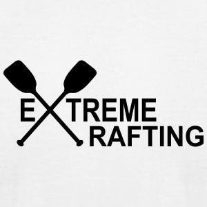 extreme rafting - Men's T-Shirt by American Apparel