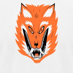 Cursed Fox - Men's T-Shirt by American Apparel