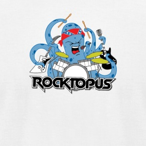 Rocking Octopus - Men's T-Shirt by American Apparel