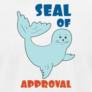 seal of approval - Men's T-Shirt by American Apparel