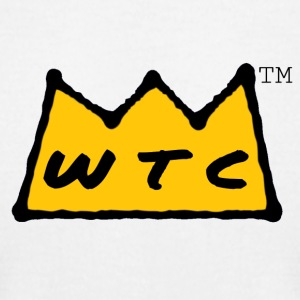 WtC Crown Logo - Men's T-Shirt by American Apparel