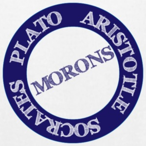 Morons - Men's T-Shirt by American Apparel