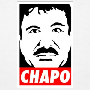 El Chapo Guzman - Men's T-Shirt by American Apparel