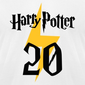 Harry Potter 20th anniversary - Men's T-Shirt by American Apparel