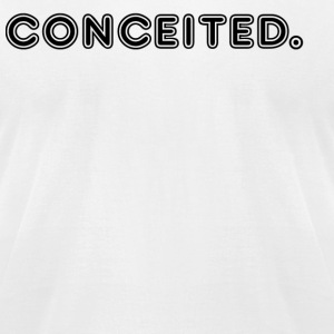 conceited - Men's T-Shirt by American Apparel
