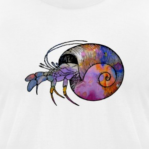 Hermit Crab - Men's T-Shirt by American Apparel